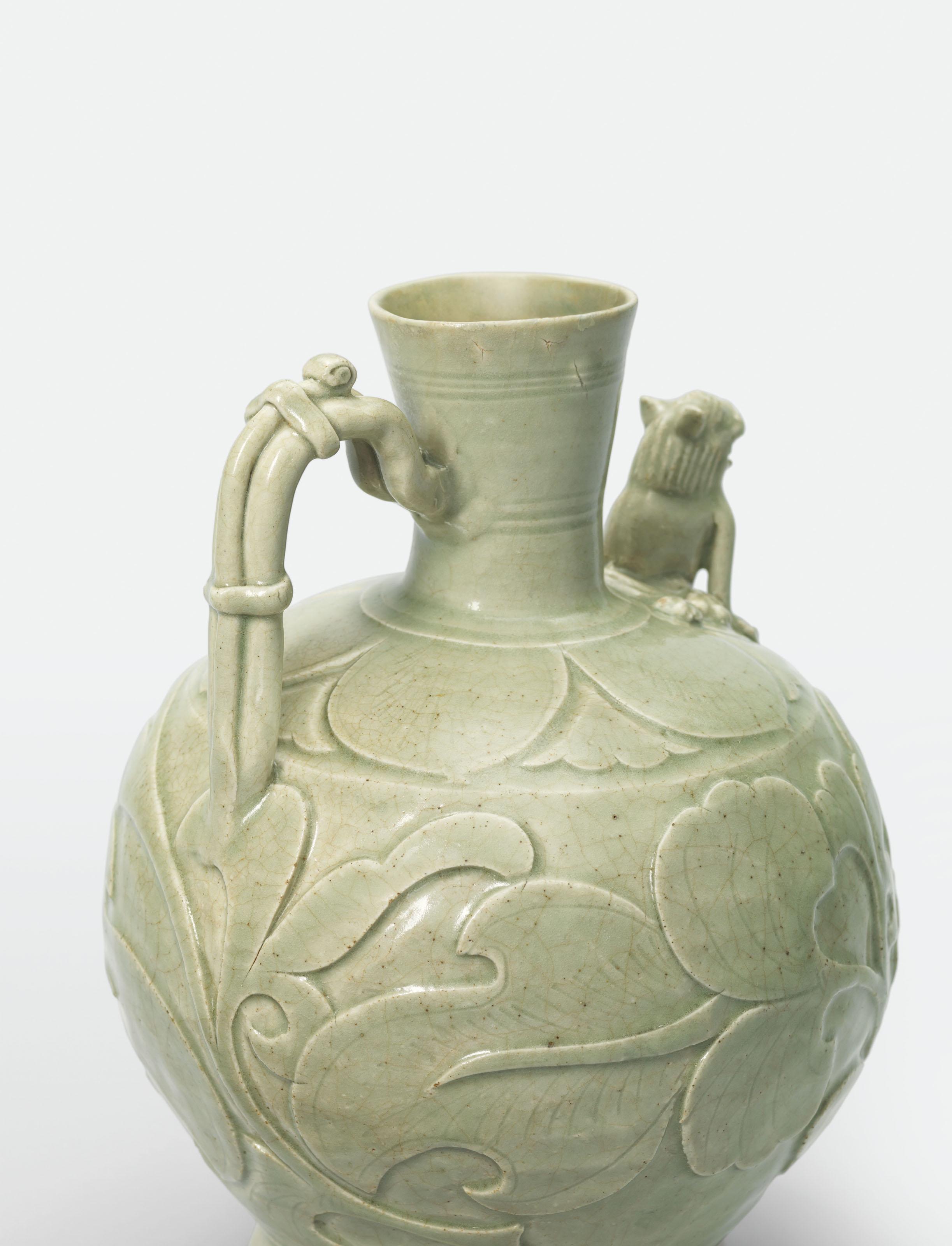 A yaozhou carved peony ewer five dynasties northern song a yaozhou carved peony ewer reviewsmspy