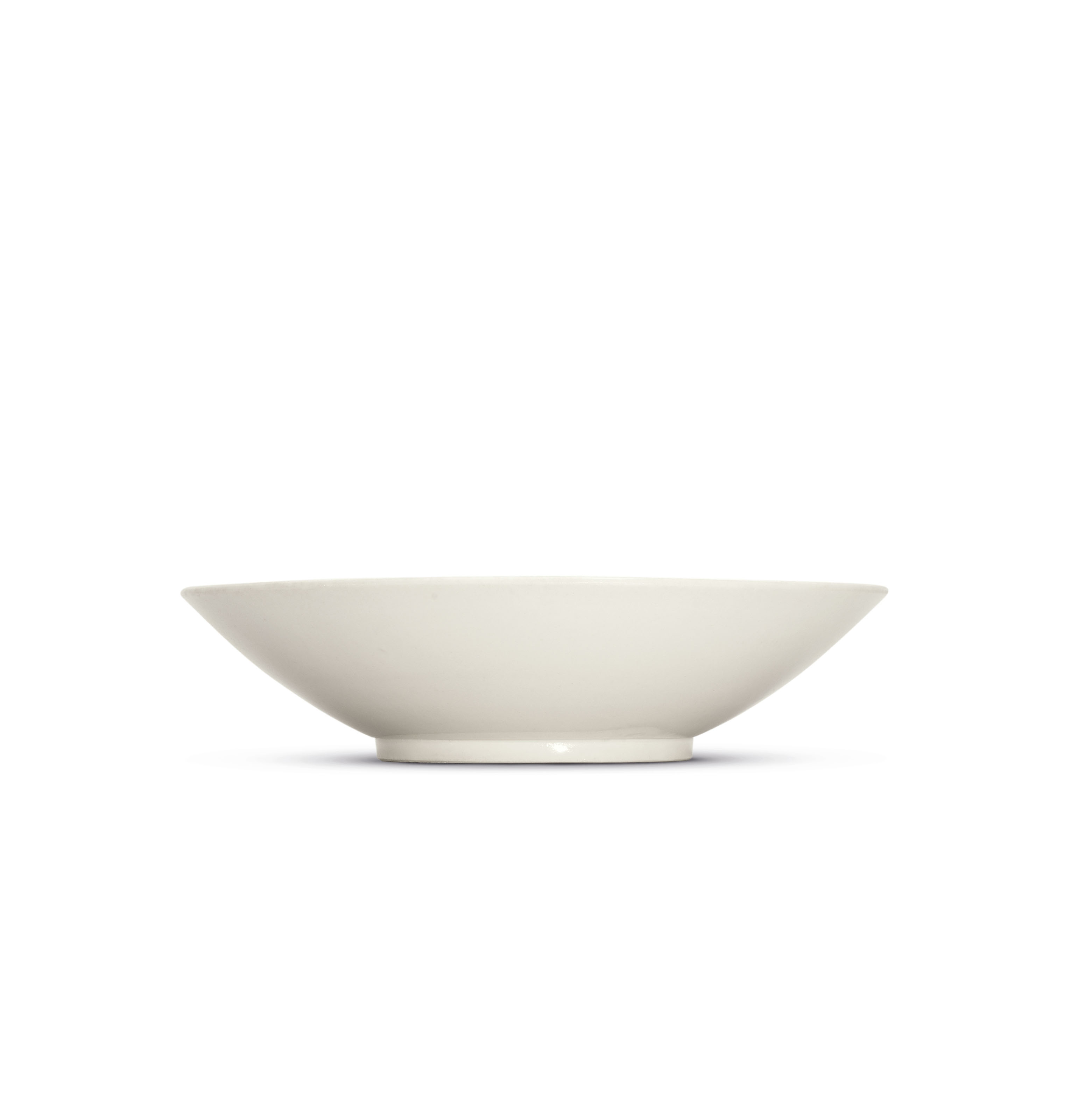 A VERY RARE INSCRIBED XING WHITE-GLAZED 'DAYING' BOWL