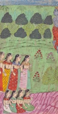 An illustration to the Bhagvat