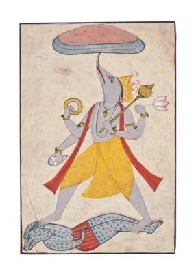 Varaha, the Boar Avatar of Vis