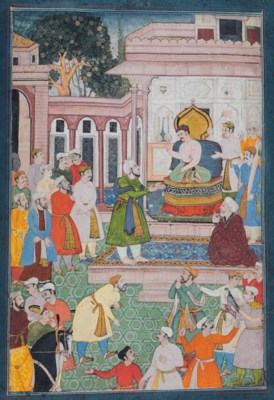 THE EMPEROR AKBAR IS PETITIONE