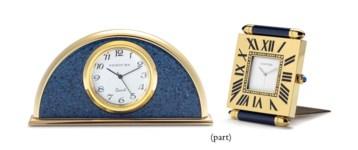 FIVE DESK CLOCKS