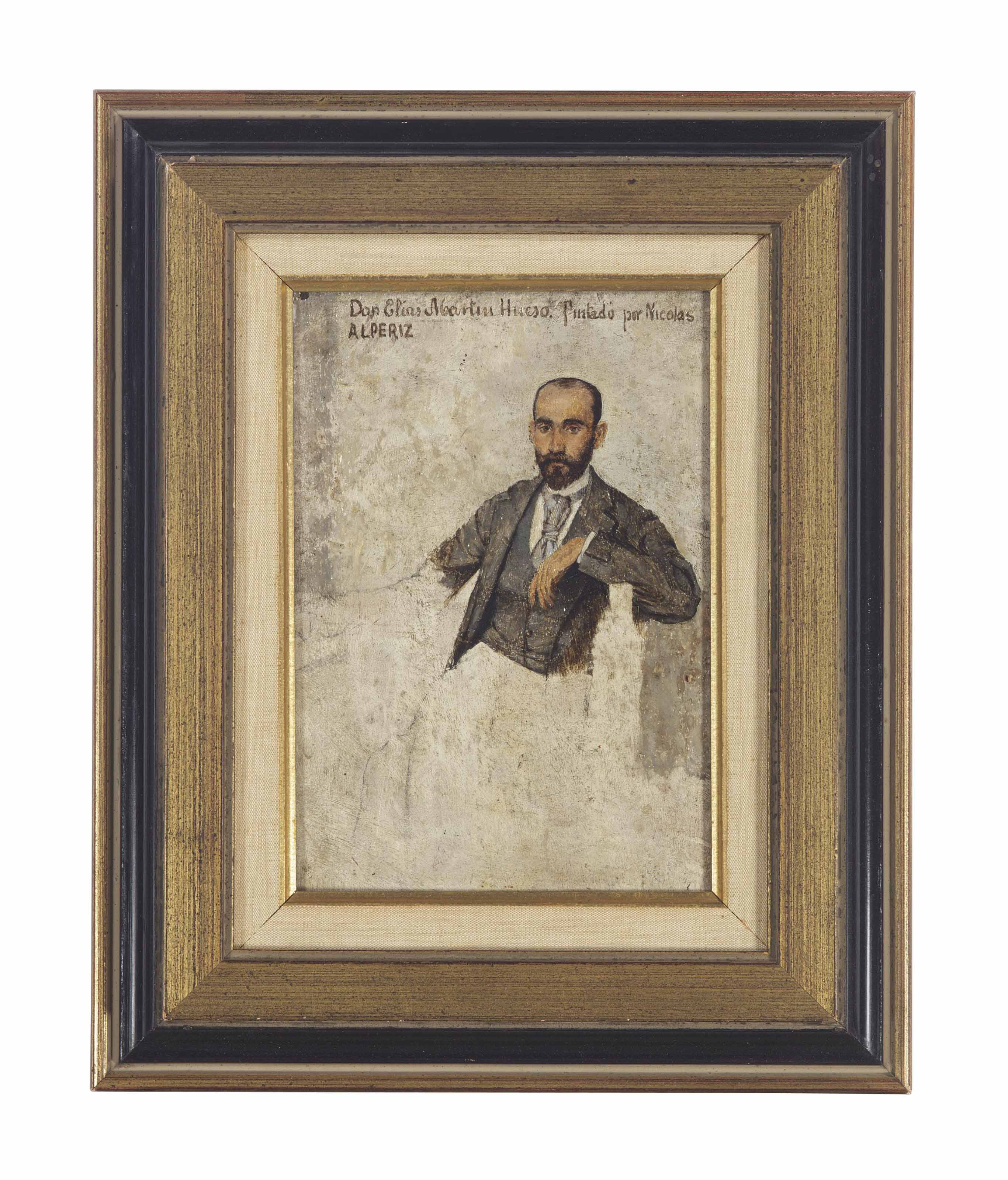 Portrait of Don Elias Martin Hueso