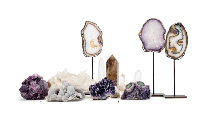 A COLLECTION OF MINERAL SPECIM