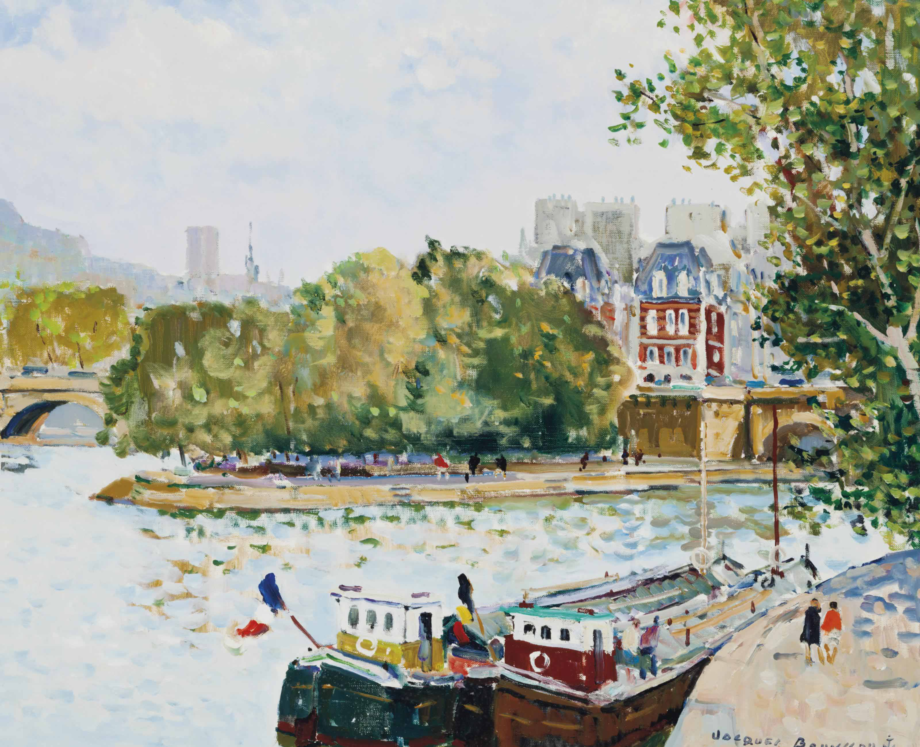 Jacques Bouyssou (French, 1926