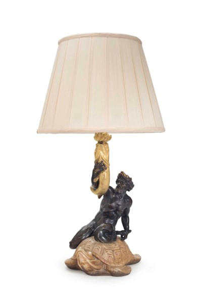 AN AMERICAN GILT, PATINATED-BR