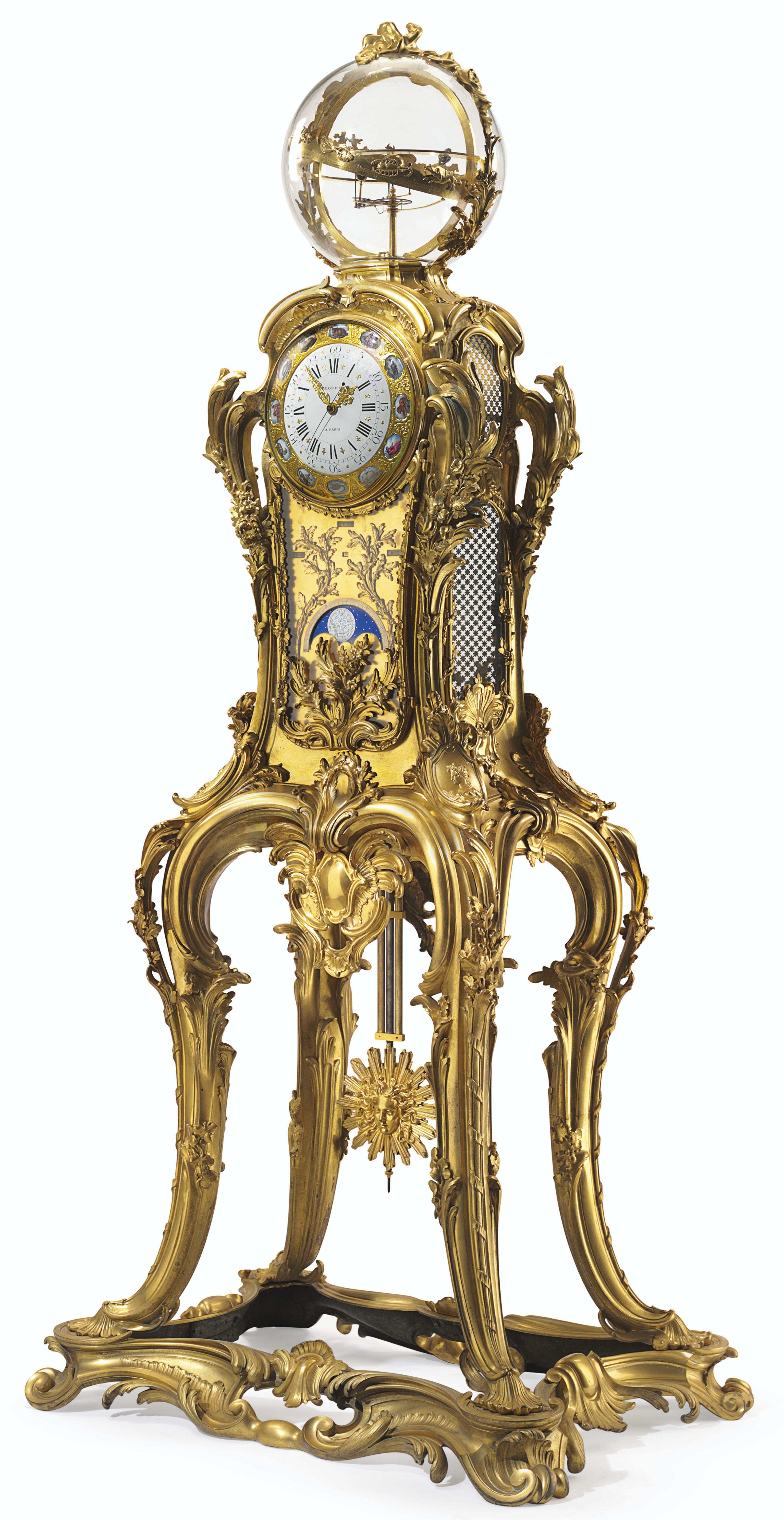 AN IMPORTANT FRENCH ORMOLU AST