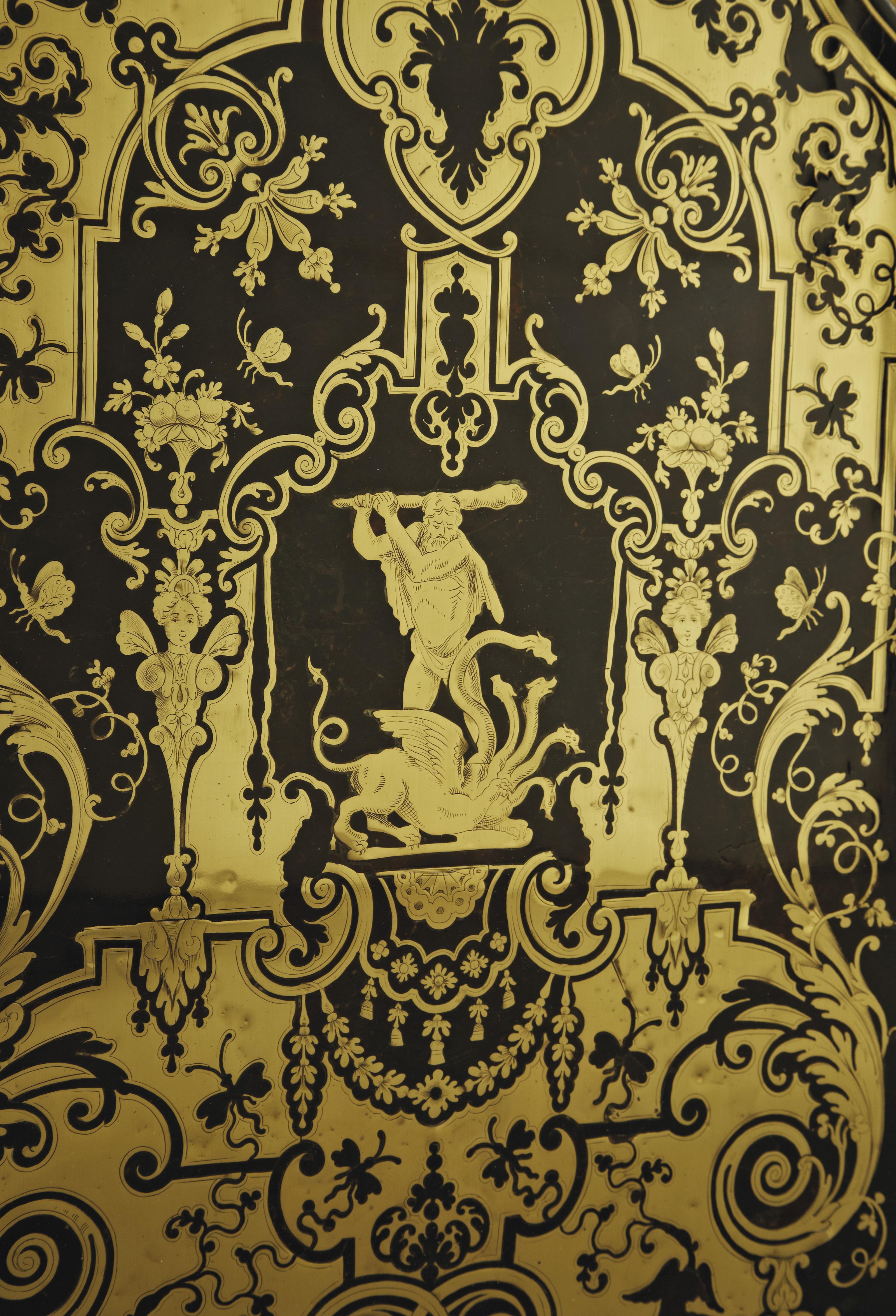 A PAIR OF LOUIS XIV ORMOLU-MOU