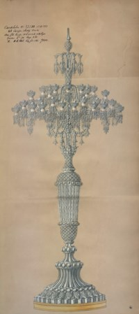 A MONUMENTAL PAIR OF FRENCH CUT AND MOLDED-CRYSTAL SEVENTY-NINE-LIGHT CANDELABRA