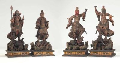 A set of the Four Guardian Kin