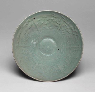 A celadon bowl