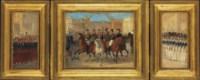 Study for Louis-Philippe et ses fils devant la grille d'honneur