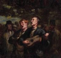 Chanteurs ambulants ('Buskers')