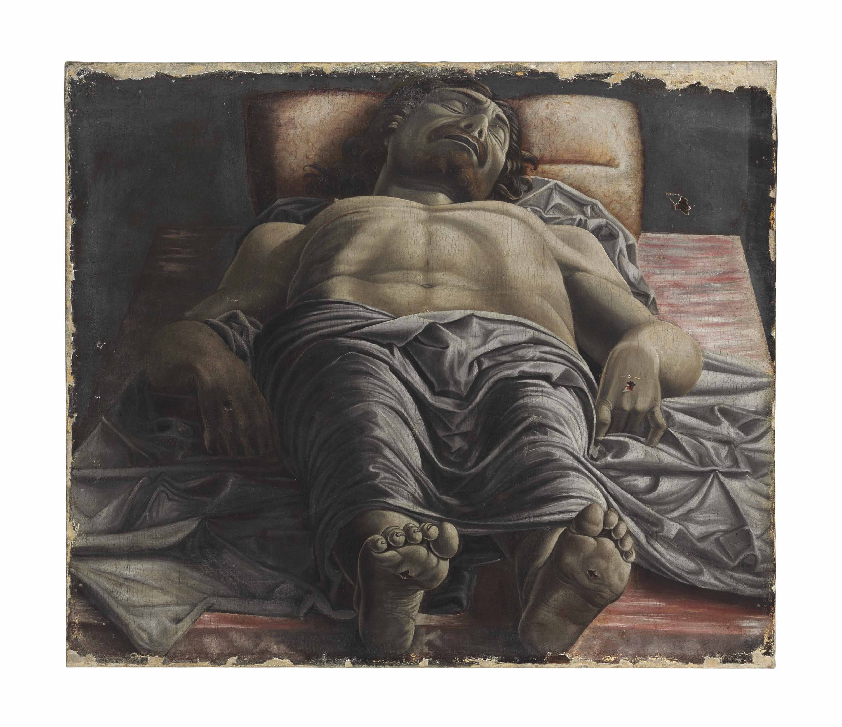 foreshortened christ by andrea mantegna