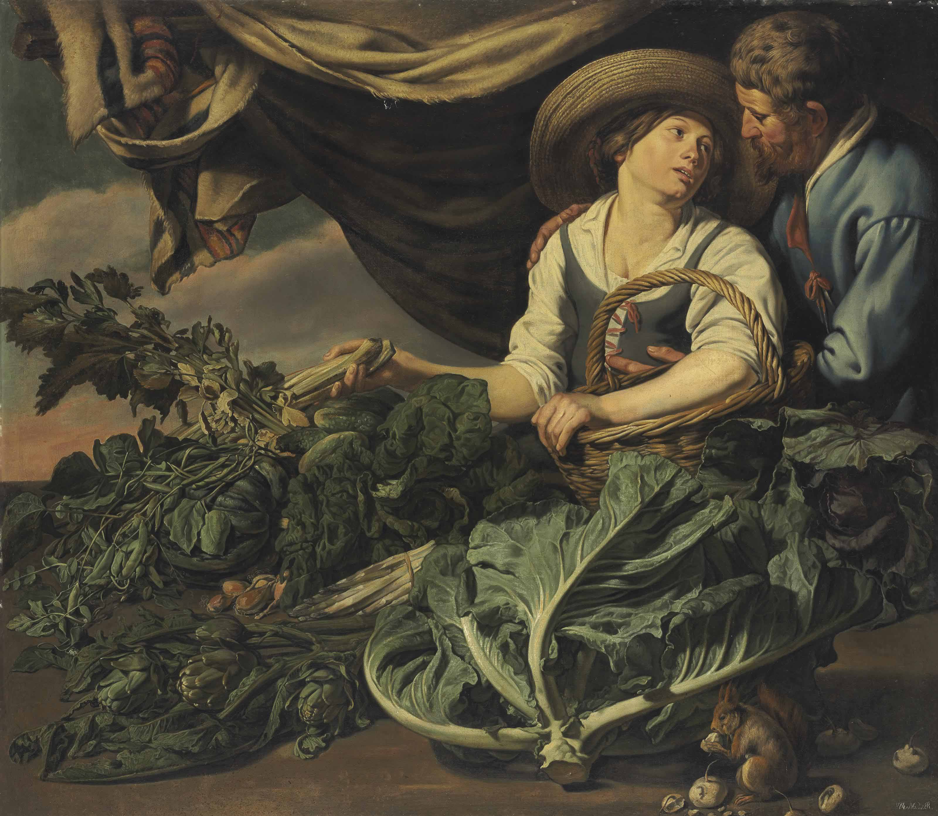 Adriaen Van Utrecht (Antwerp 1599-1652) and Theodoor Rombouts (Antwerp 1597-1637)