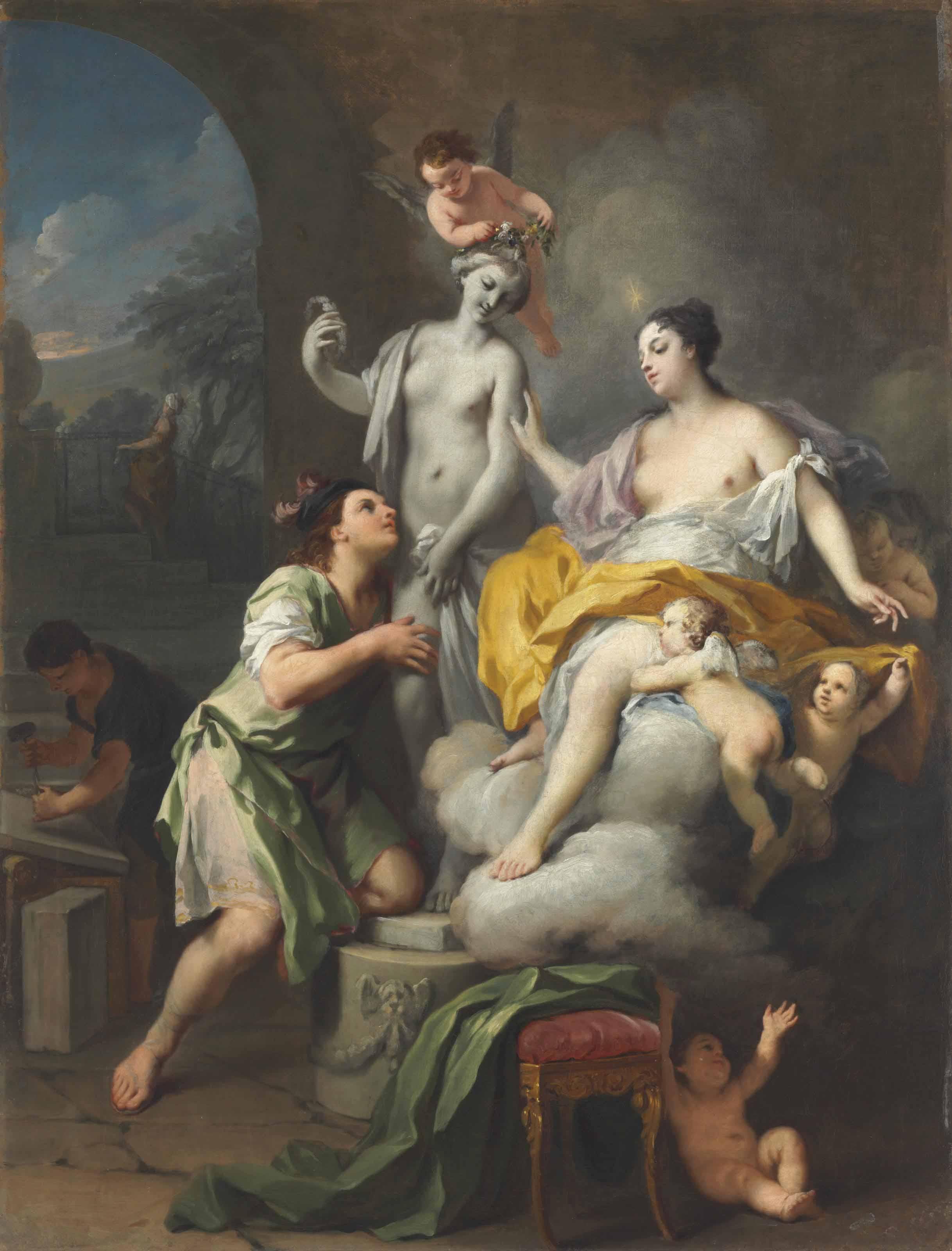 Jacopo Amigoni (Venice 1675-17