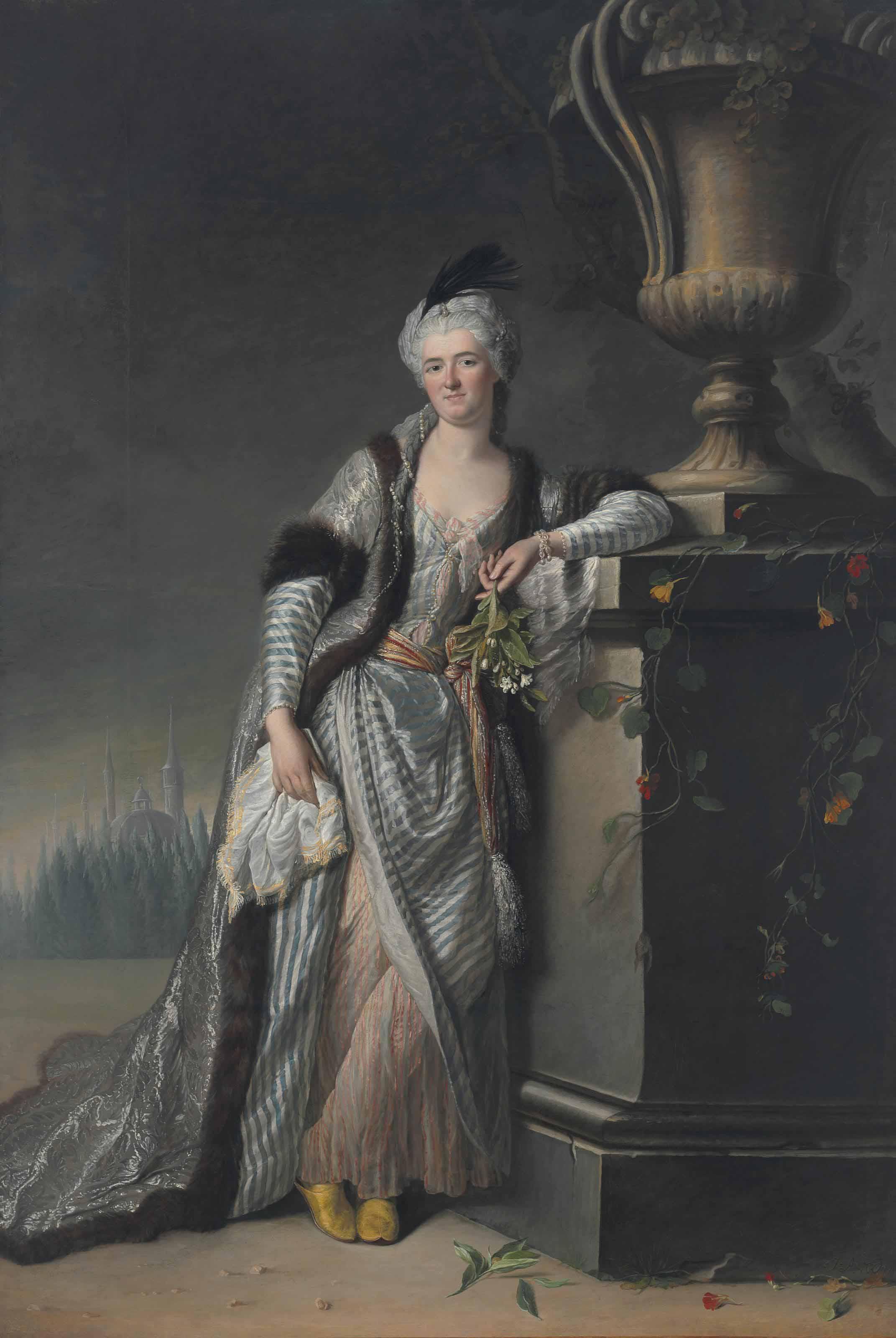 Jacques-André-Joseph-Camelot Aved (Douai 1702-1766 Paris)
