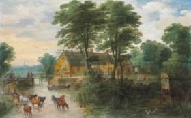 Joos de Momper II (Antwerp 1564-1635) and Jan Breughel II (A