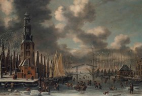 Thomas Heeremans (Haarlem 1641-1697) and Abraham Storck (Ams