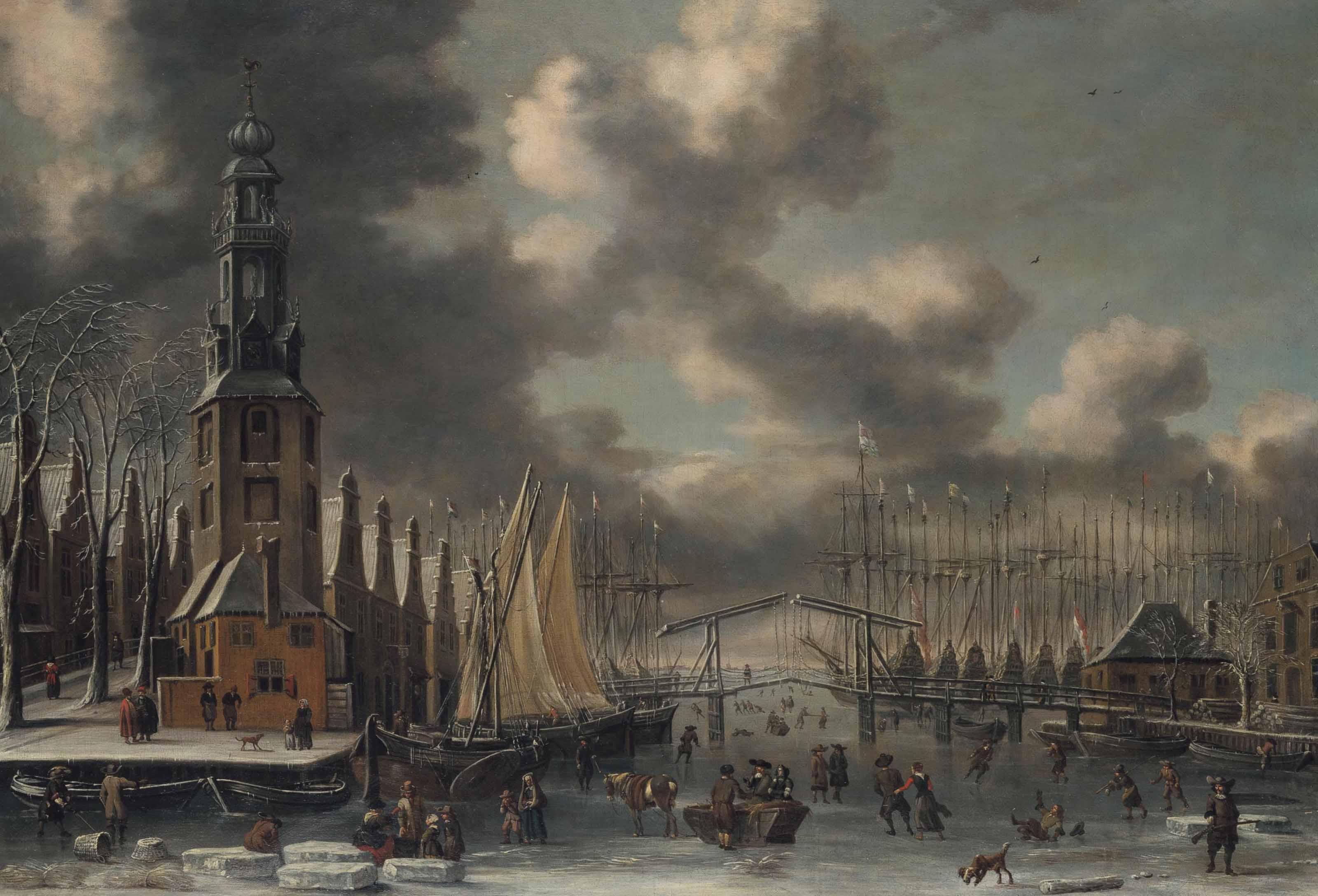 Thomas Heeremans (Haarlem 1641-1697) and Abraham Storck (Amsterdam 1644-1708)