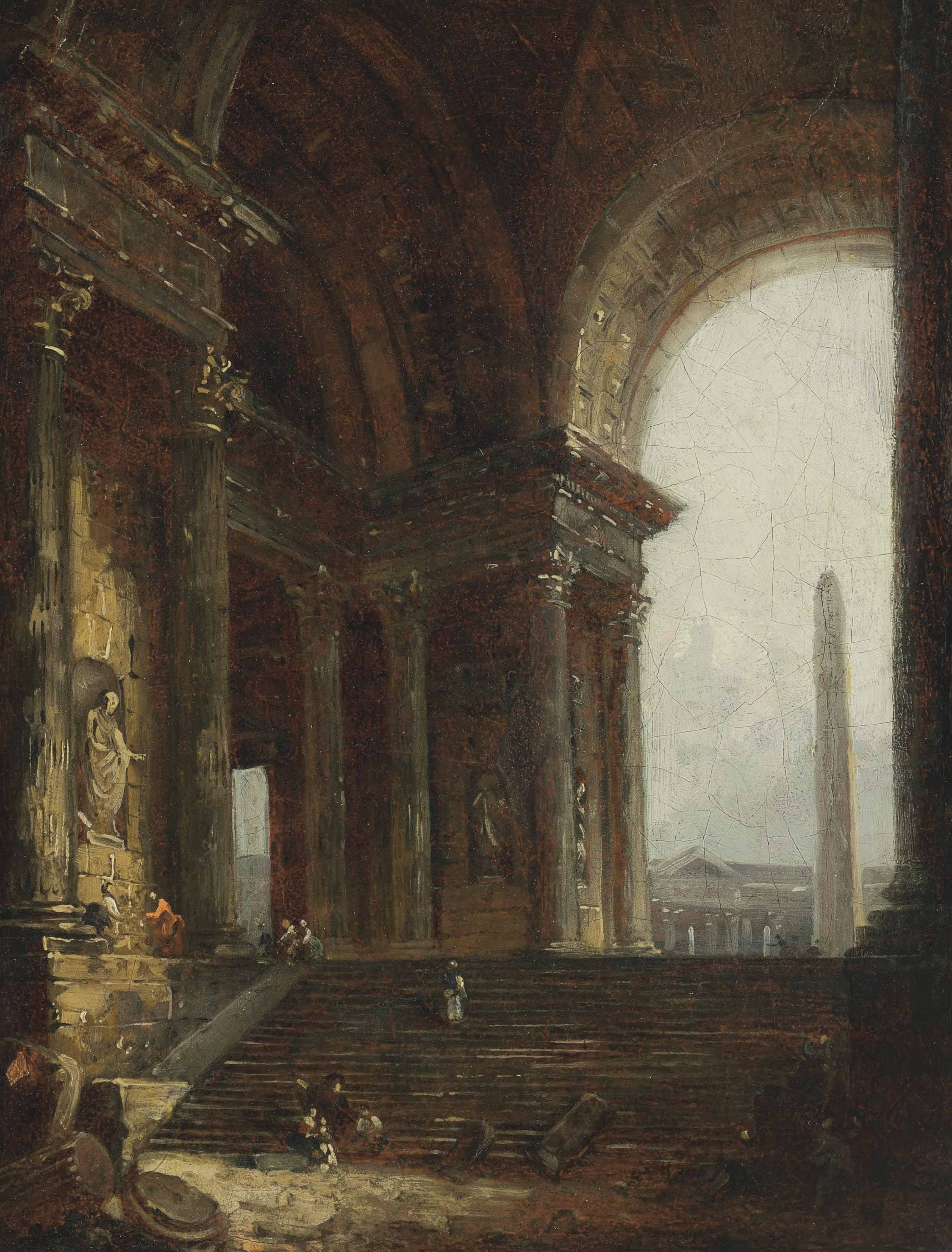 Hubert Robert (Paris 1733-1808