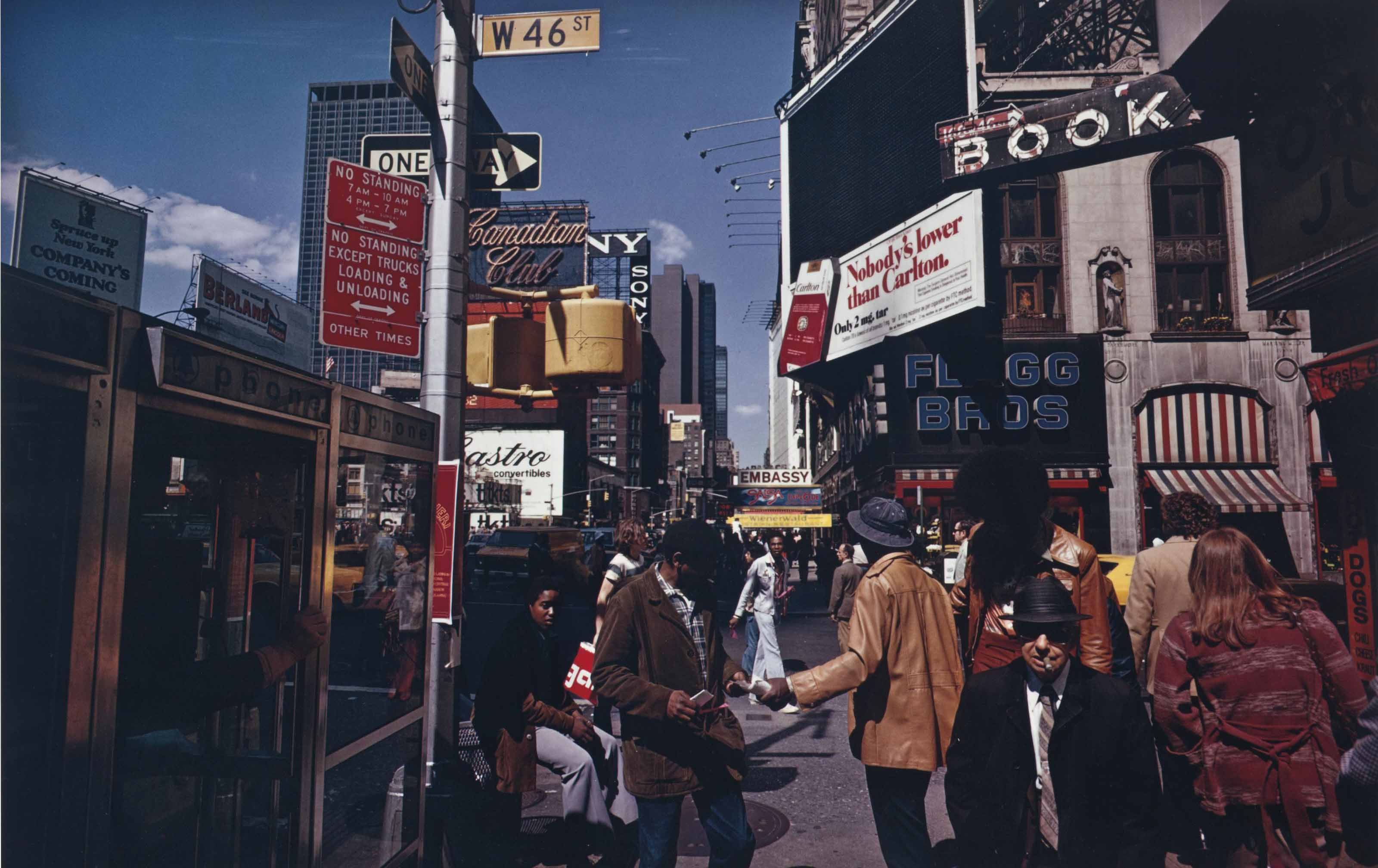 Broadway and 46th Street, New York City, 1976