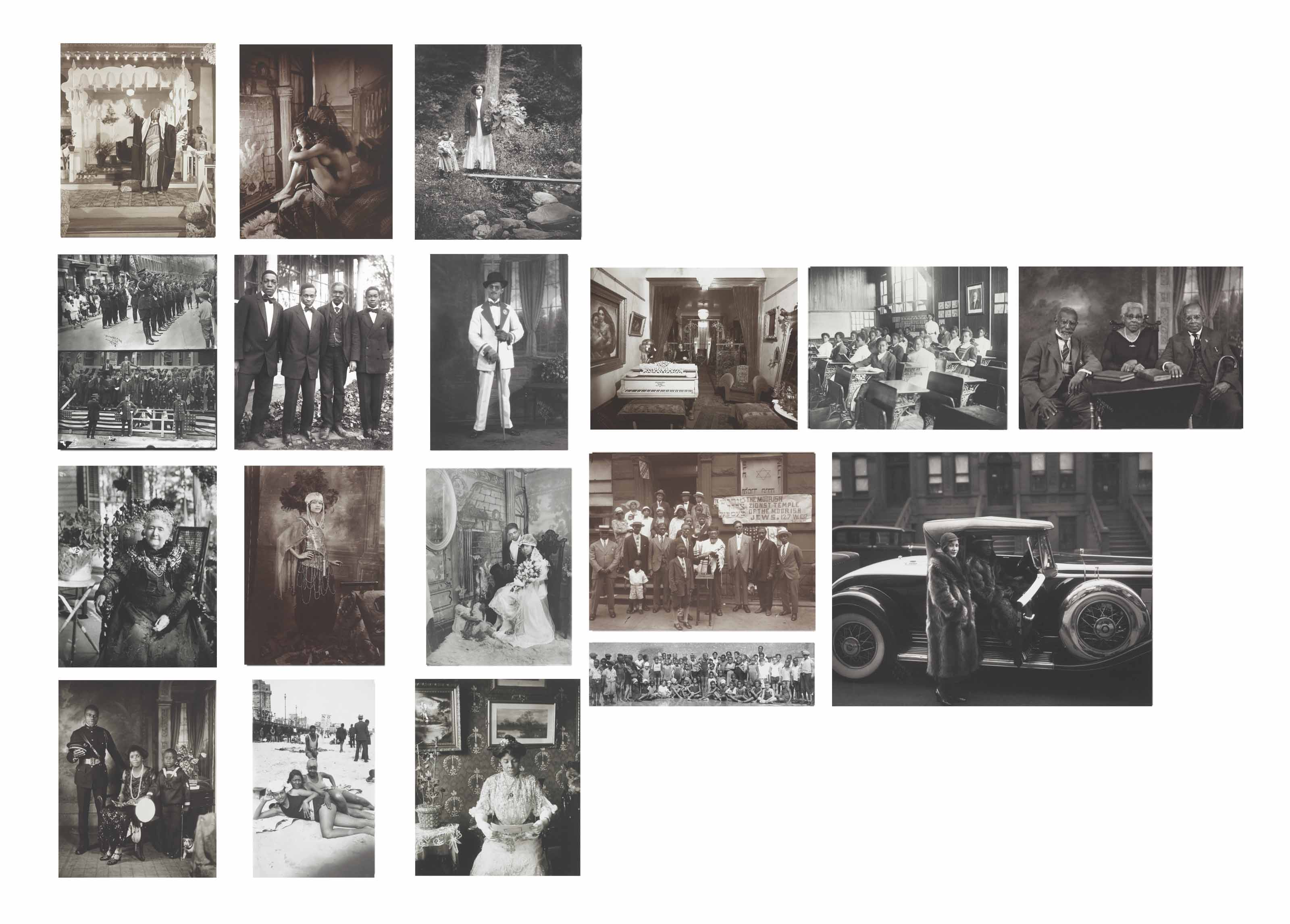 James Van Der Zee: Eighteen Photographs
