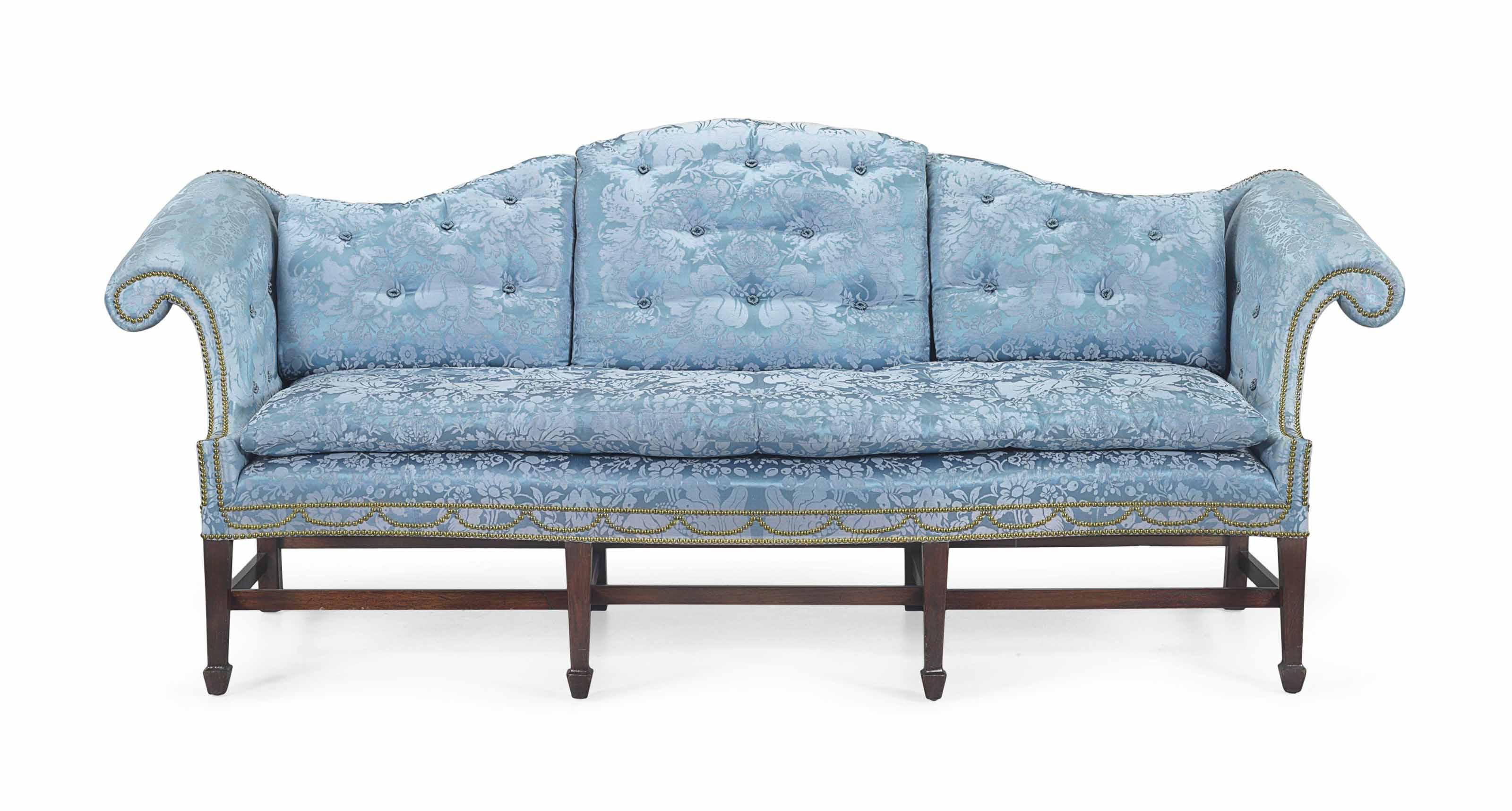 Fantastic A Late Chippendale Mahogany Serpentine Front Sofa Machost Co Dining Chair Design Ideas Machostcouk