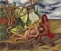 Dos desnudos en el bosque (La tierra misma)
