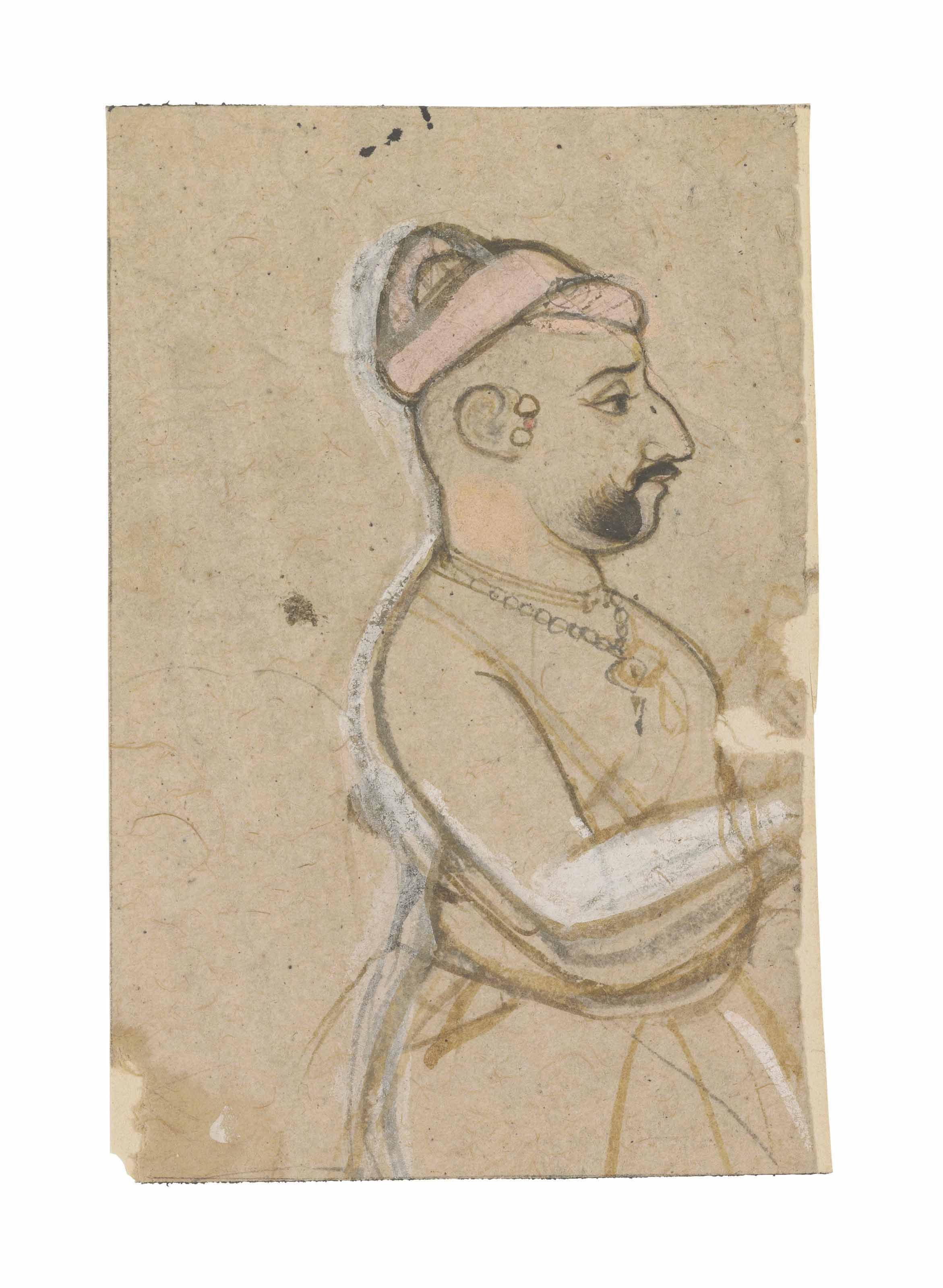 A drawing of a nobleman