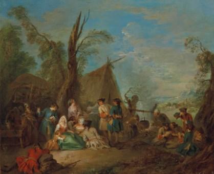 Jean baptiste pater valenciennes 1695 1736 paris