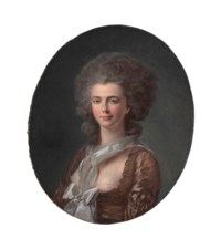 Portrait of a lady, bust-length