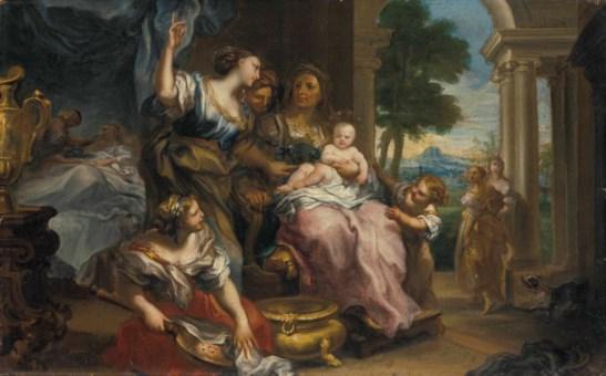 Genoese school c 1700