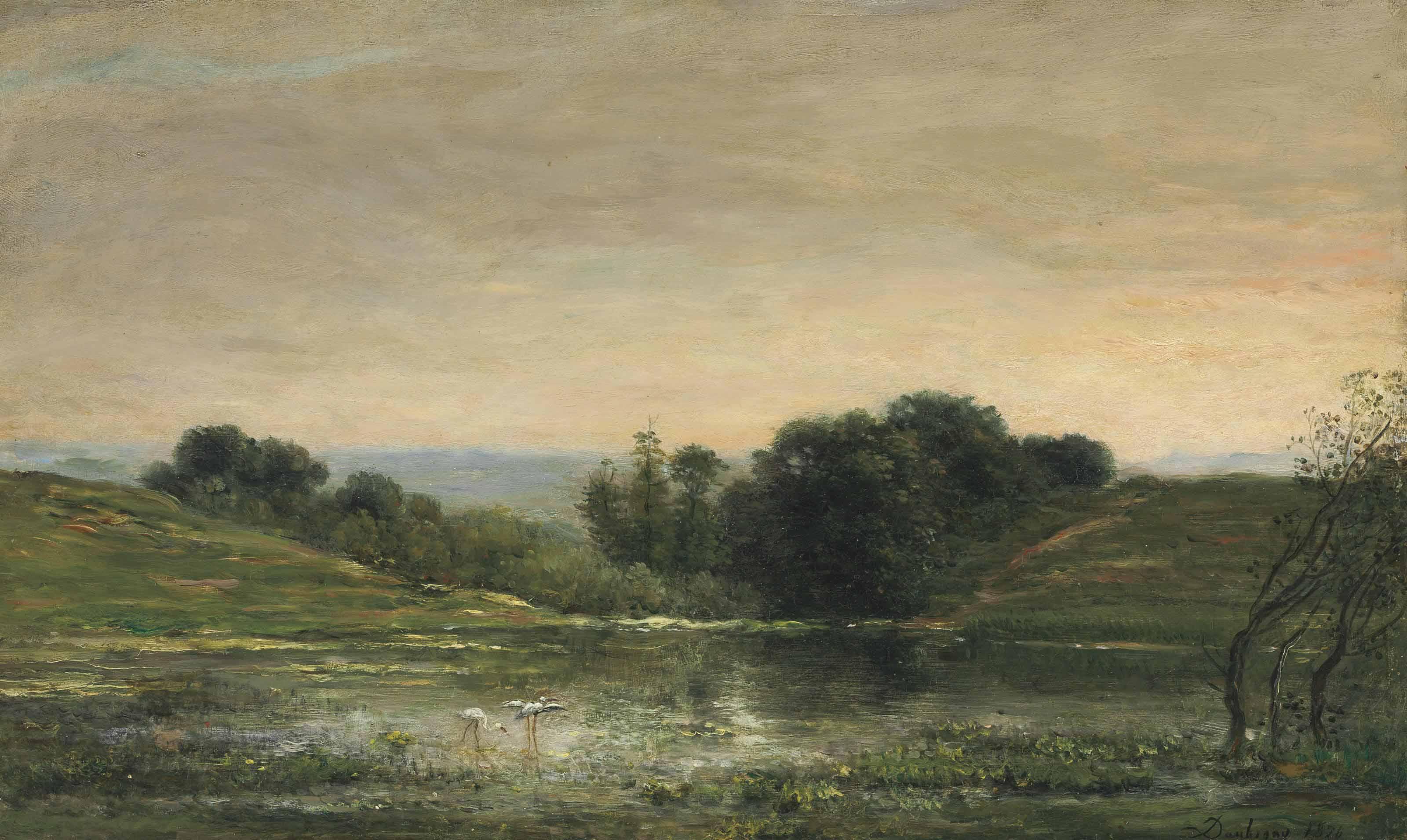 Étang de Gillieu, Dauphiné: Solitude
