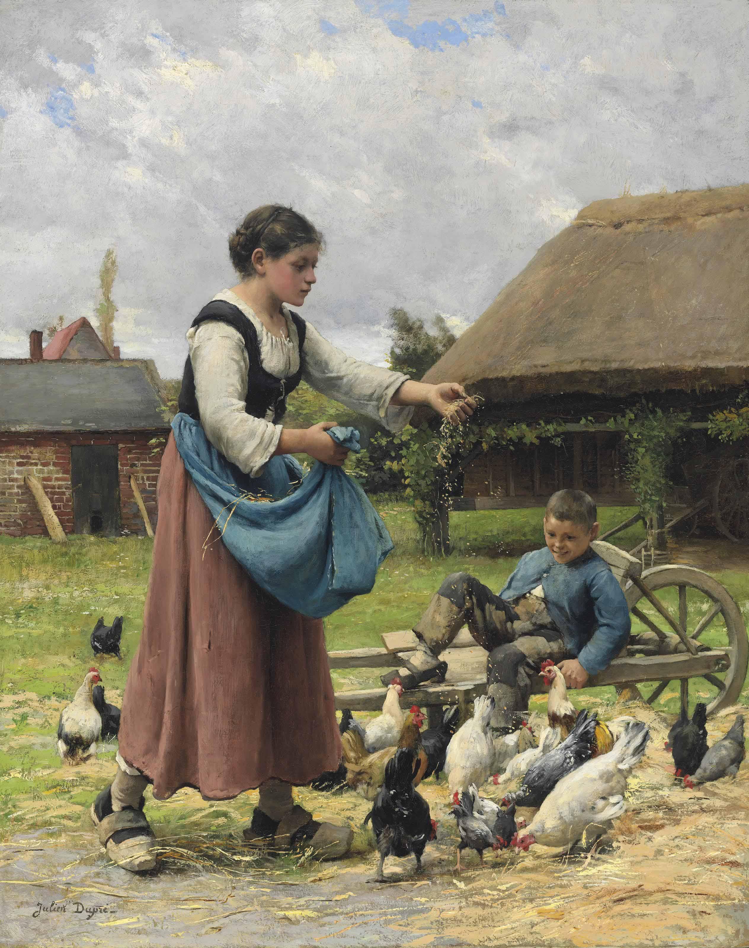 In the Farmyard