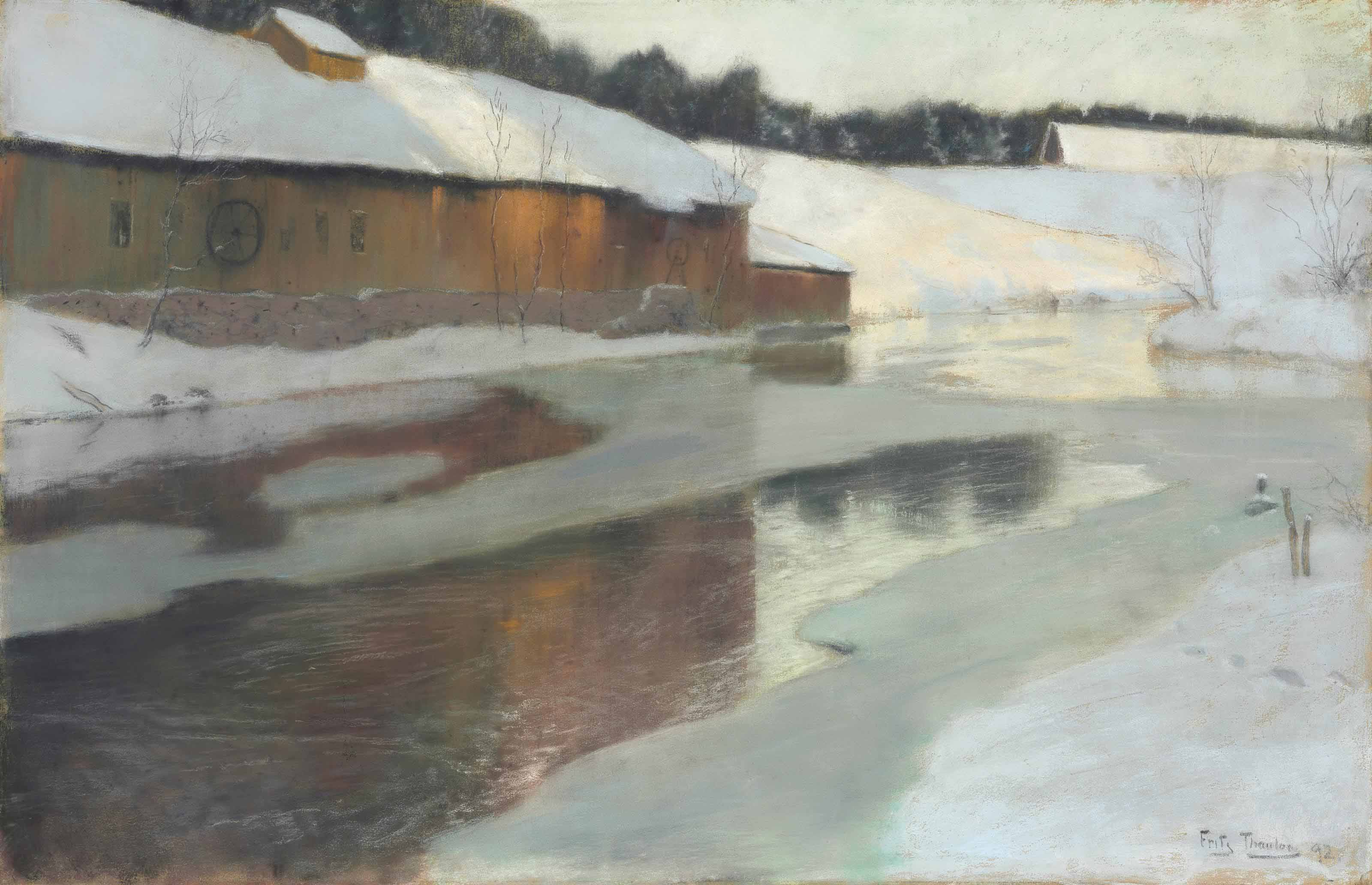 Winter Scene, Lysaker