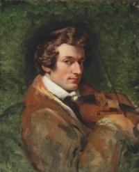 Portrait of Charles Auguste de Bériot