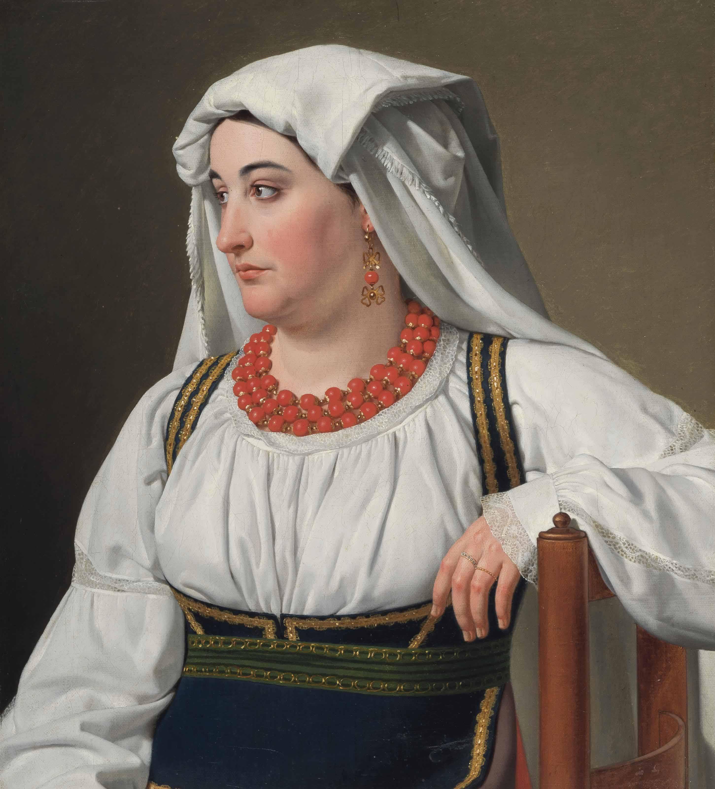 Una Ciociara, Portrait of a Roman Country Girl
