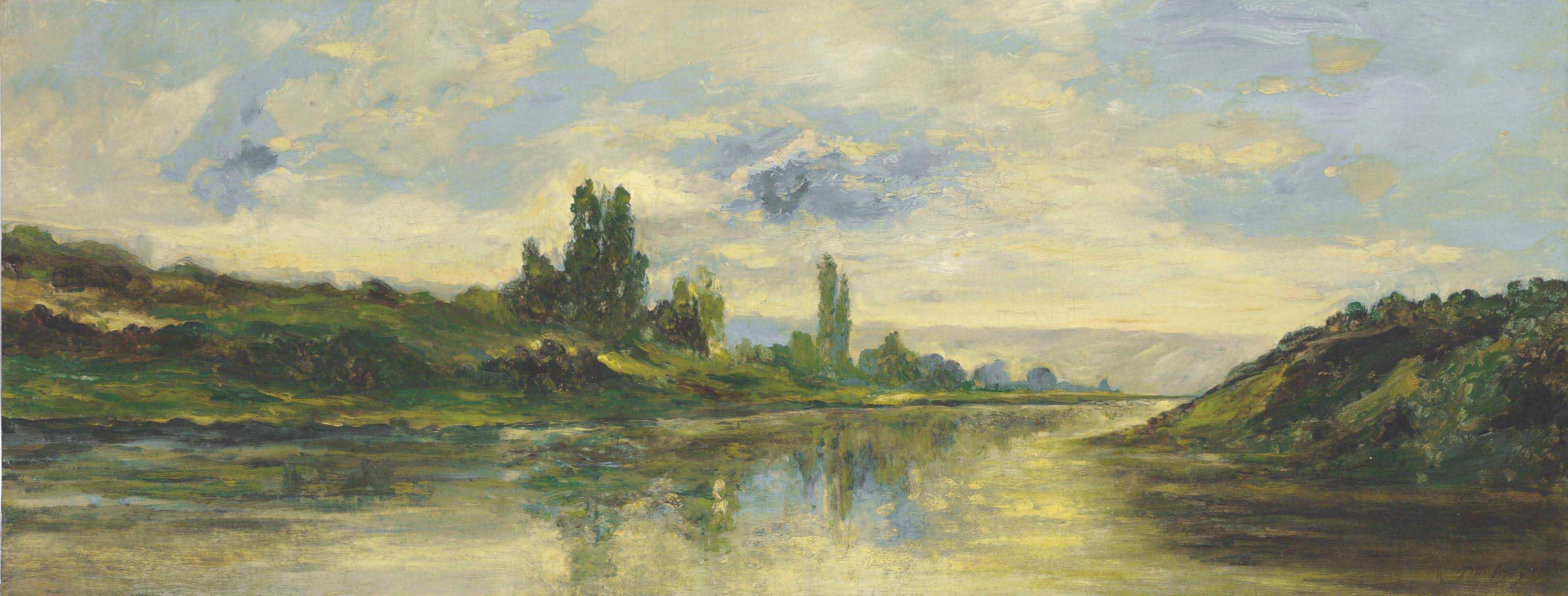 Les Bords de la Seine, près des Andelys