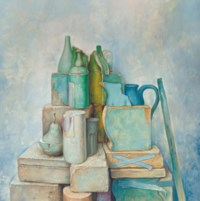 Still Life with Clear Ground