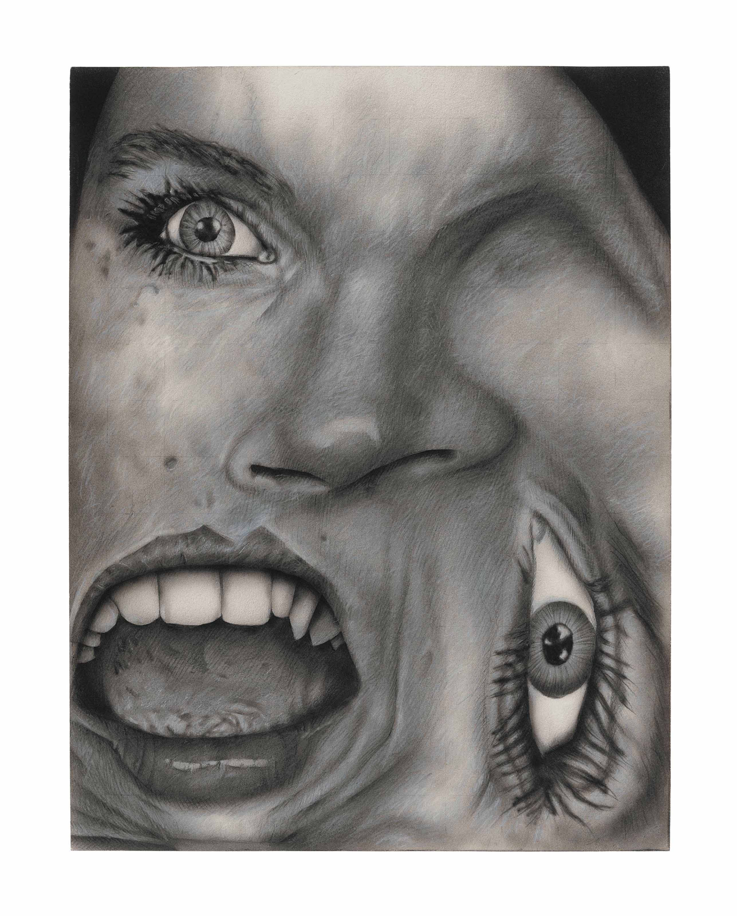 Untitled (Distorted Face #5)