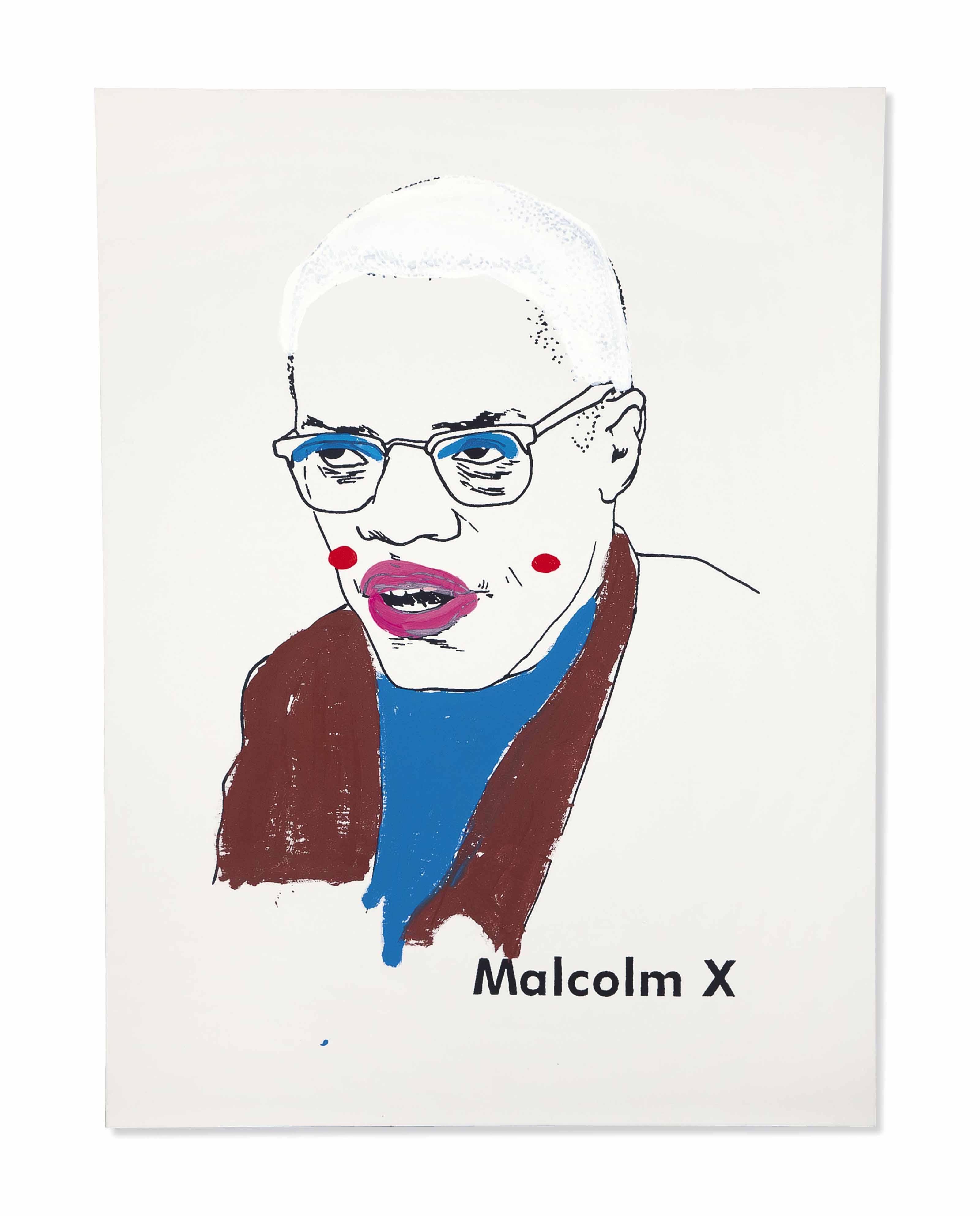 Malcolm X (version 1) #1