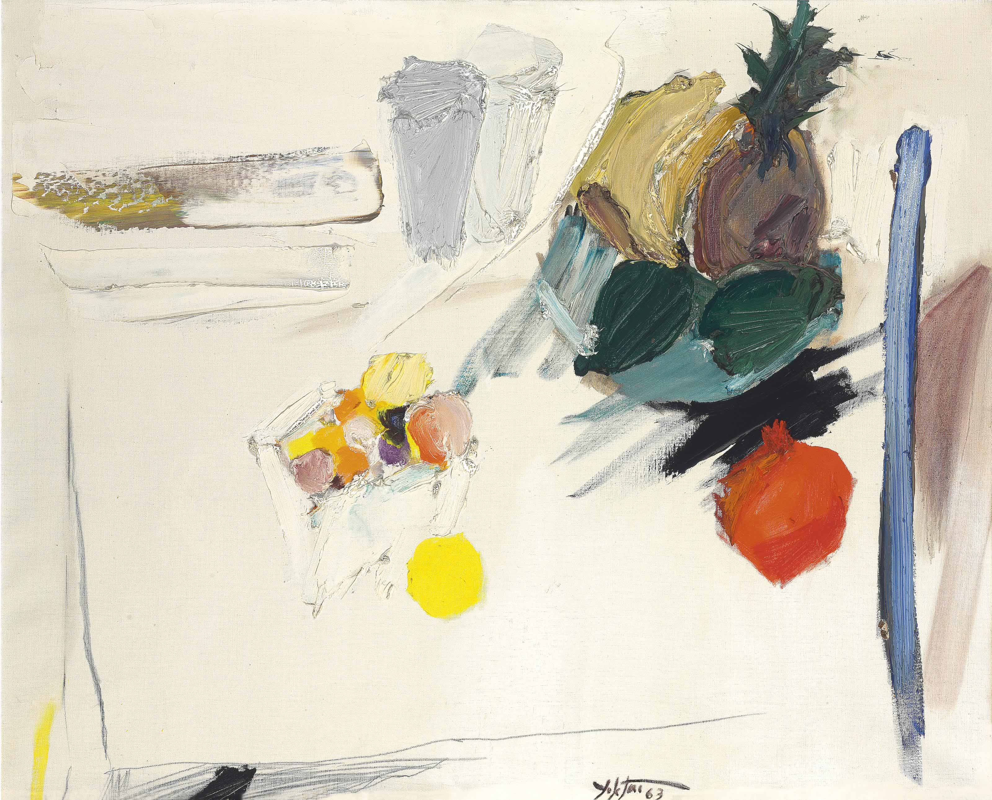 Untitled (Fruit on Table)