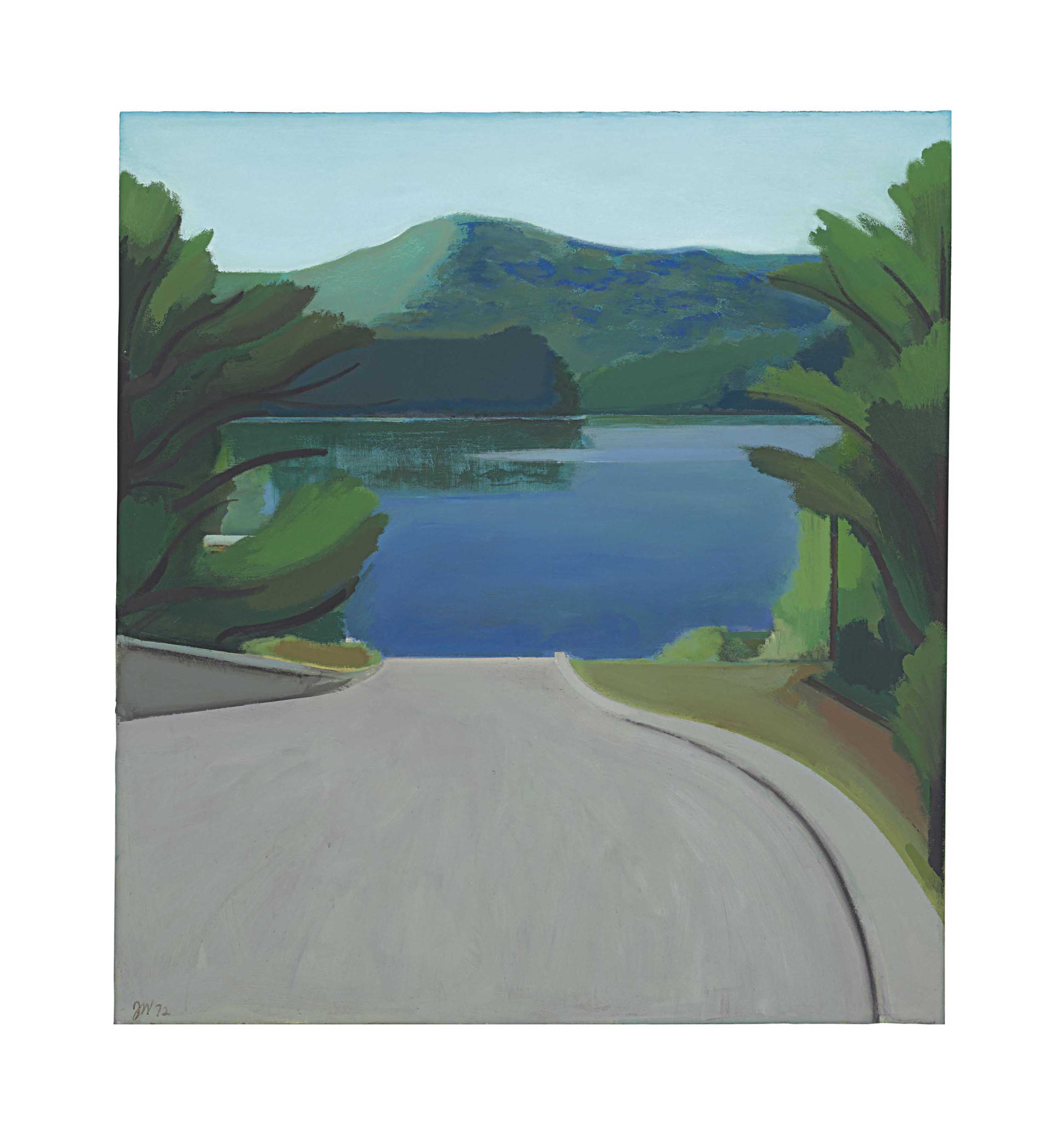 Berkshire Landscape, Boat Landing