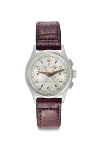 Breitling. A Fine Stainless Steel Split-Seconds Chronograph Wristwatch