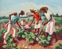 Chopping Cotton