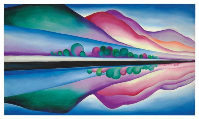 Art, Georgia O'Keeffe, Women's History Month
