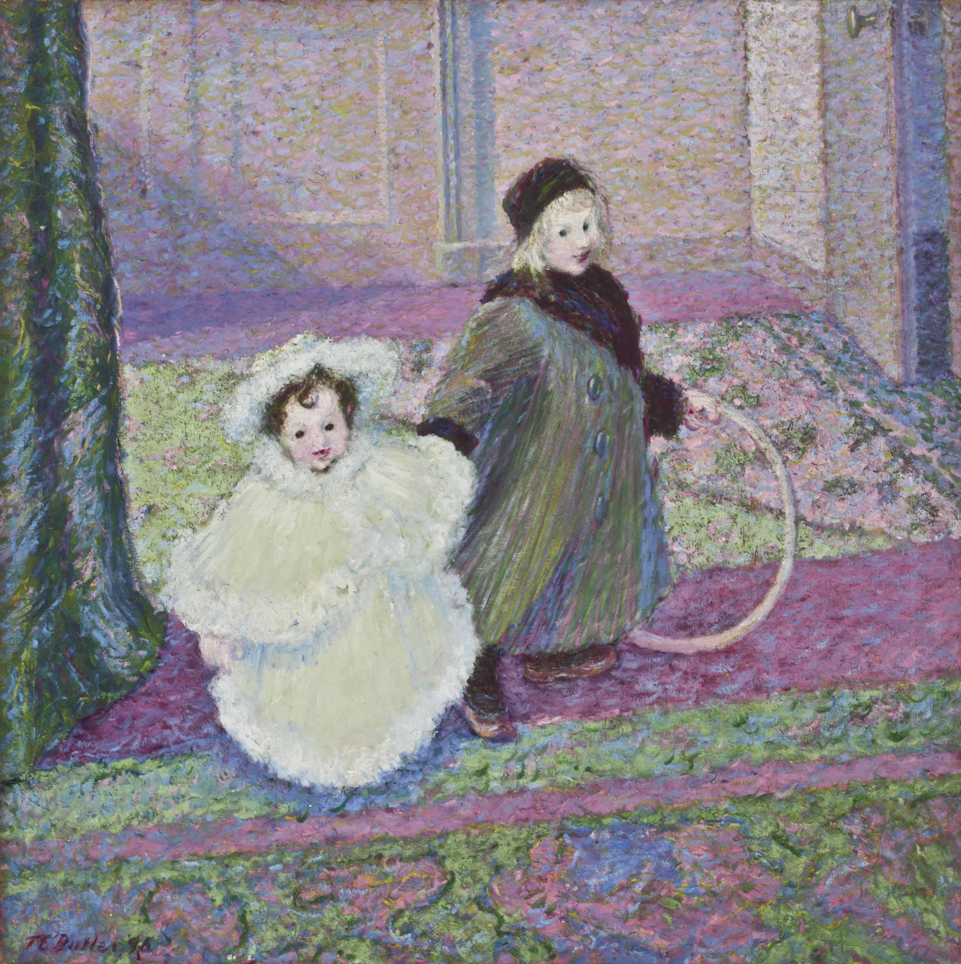 The Artist's Children, James and Lili