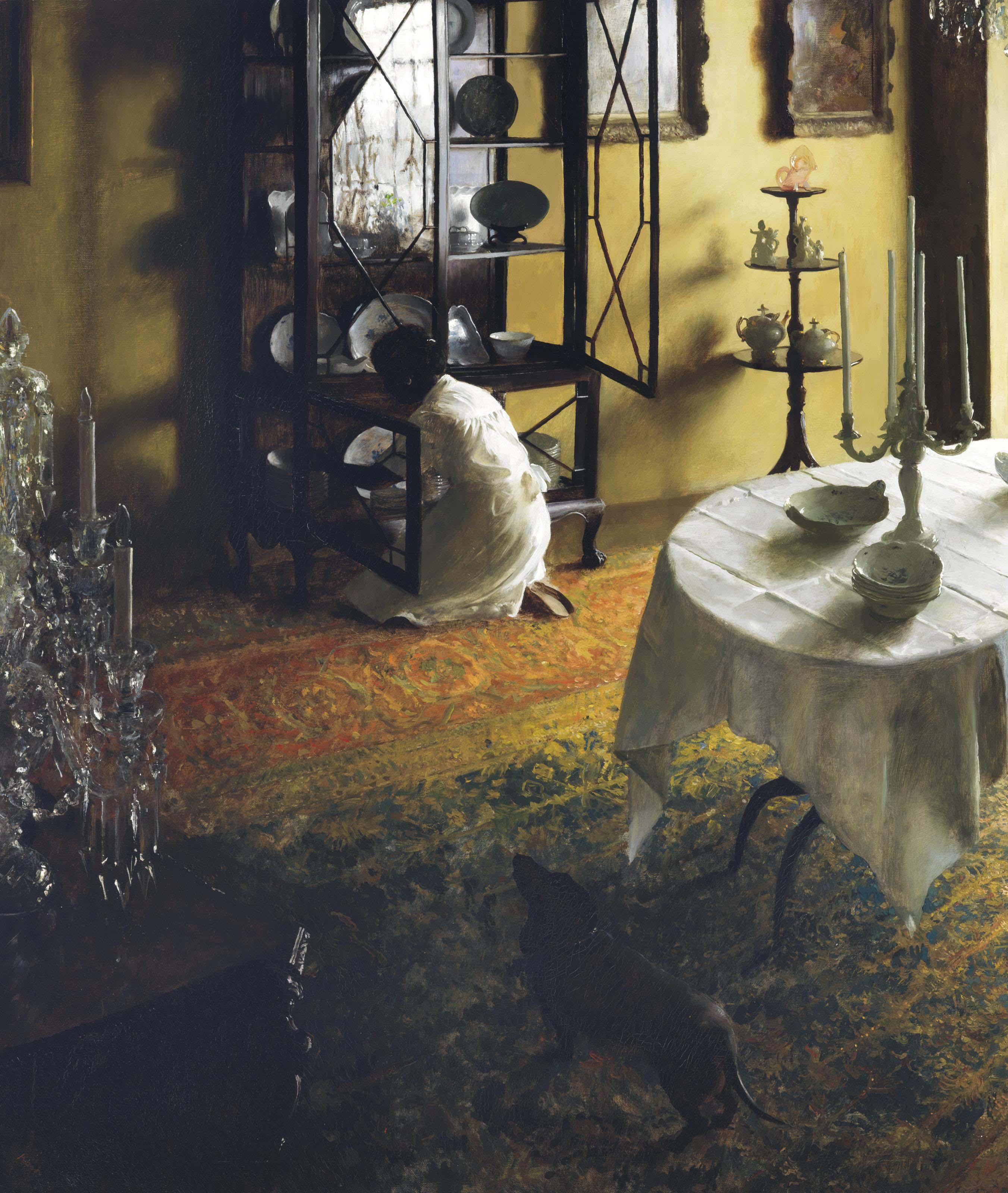 Interior--Dining Room