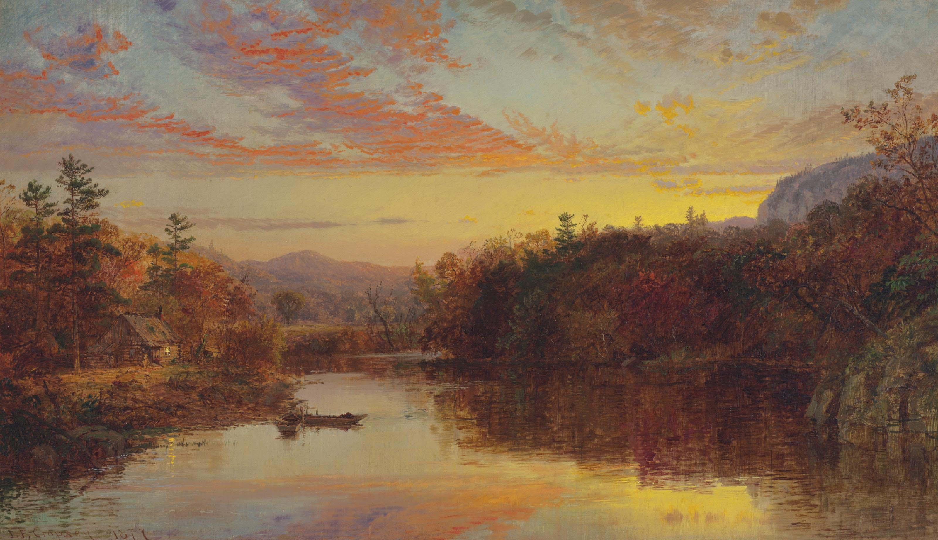 Sunset on Greenwood Lake